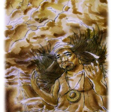 Maguayan, brother of sky god Kaptan.