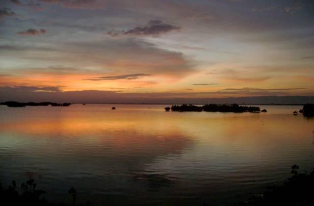 Cebu at dusk
