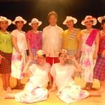 Standing from l-r: Heide Briffa, Emie Panganiban, Josie Martil, Virgil Rafael, Cristi Ras, Aileen Reyes, Donna Manzella. Seated from l-r: Marissa de Guzman, Giselle Limbo Edgar