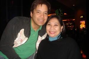 With Martin Nievera