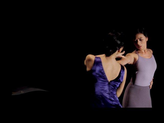 Mara and Flamenco coach Mercedes