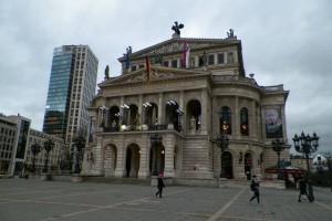 The Old Opera in Frankfurt