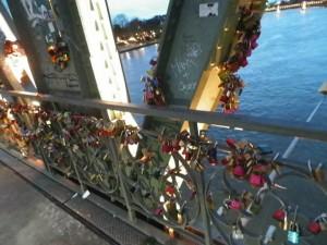 Love Locks on the Iron Bridge