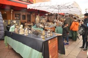 A flea market in Nice.