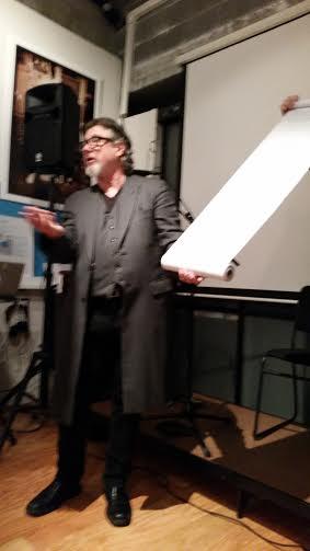 Bob Holman reads the People's Khonsay