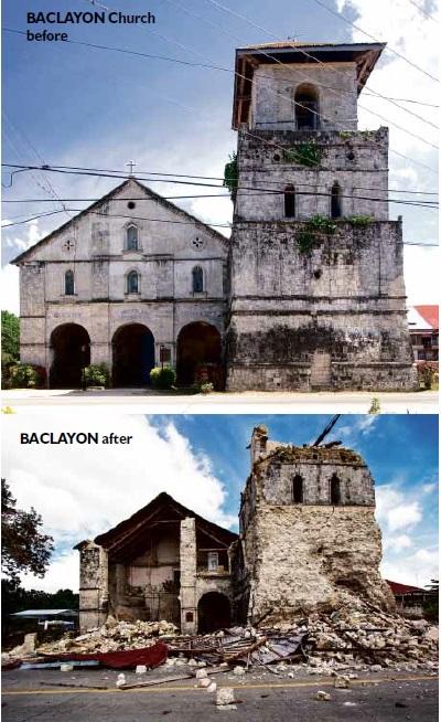 Baclayon Church in Baclayon town