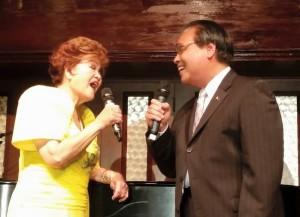 A duet with Amb. de Leon