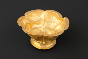 Golden goblet