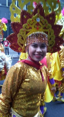Cebuana dancer Chelsi Burgos