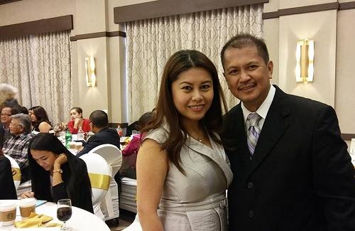 Jaycees USA vice president Ria Serrano and New Jersey leader Gani Puertollano